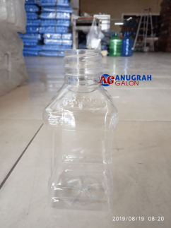 BOTOL 250 ML KOTAK